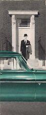 Ford Consul Mk2 Saloon 1957-58 UK Market Smaller Format Foldout Sales Brochure