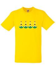SUBBUTEO indietro quattro Watford Giallo T-Shirt Tutte Le Taglie