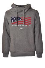 New Balance - Topwear-Sweatshirts - Man - Grey - 919418C181843