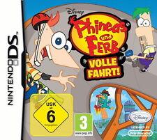 Phineas und Ferb: Volle Fahrt (Nintendo DS, neu + OVP)