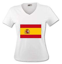 T-shirt Femme Drapeau Espagne - du S au XL