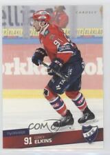 2016 Cardset Finland SM-Liiga 012 Corey Elkins HIFK Helsinki (Liiga) Hockey Card
