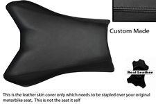 Negro Custom Fits Yamaha Fazer Fz1 06-12 100% Cuero Funda De Asiento