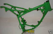 Kawasaki KX 60 All Years Steel Main Frame with ID Green