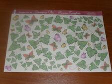 papier voile pour découpage technique serviette (lière et papillons) 48X33,5cm