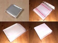 Fundas CD DVD Alta Calidad Plástico Ecológico Adhesiva Papel Sobre 50 100 1000