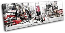 NYC Times Square City SINGLE TOILE murale ART Photo Print