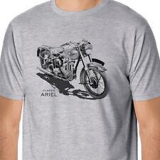 RetroArt Classic Ariel Motorcycle Inspired T-Shirt