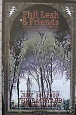 Phil Lesh Poster Grateful Dead Friends Warren Haynes Gov't Mule Backyard Texas