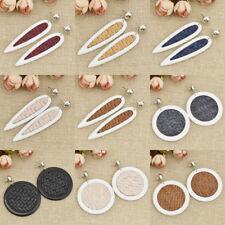 Women Girl Resin Geometric Dangle Drop Ear Stud Earrings Party Fashion Jewelry