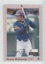 1992 BBM #136 Hiromi Matsunaga Orix BlueWave Rookie Baseball Card