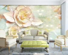3D Jasmin Pur 68 Photo Papier Peint en Autocollant Murale Plafond Chambre Art