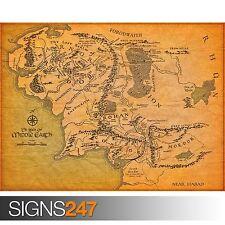Le Seigneur des Anneaux/Middle Earth (1003) Photo Poster print ART A0 A1 A2 A3 A4