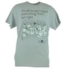 Someecards Sarcastic Ecard Regret Last Night Graphic Tshirt Humorous Tee