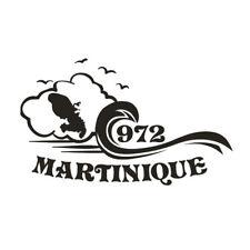 * 1 Sticker Martinique 972  *