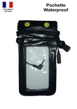 Pochette Housse Etui Waterproof Etanche Tactile Prise Ecouteurs iphone Samsung