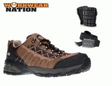 Dickies Gironde Seguridad Laboral Zapatillas,Suela Intemedia Composite,Marrón
