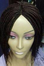 Mano trenzado pelucas giros Trenzas Trenzas Plumas Cortas Largas Varios Colores