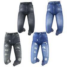 Jeans Look Slimming Shaper Leggings