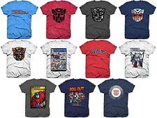 Transformers T Shirt Decepticons Autobots Cartoon Anime Robots Movie Hasbro Mens