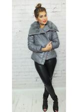 Just Addict Coat with faux fur collar - Free P+P