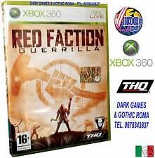 RED FACTION GUERRILLA XBOX 360 GIOCO NUOVO ITALIANO XB