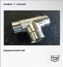Fitting T Edelstahl Steckfitting V2A Rohrverbinder VA Verbinder A2 Rohr Bogen