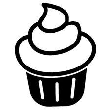 Sticker Cuisine Gateau Cupcake Spirale dessert Gourmand, 18 couleurs (CUIS080)