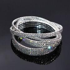 Fashion Crystal Ankle Bracelet Women 2 3 4 5 Rows Hand Chain Rhinestones Jewelry