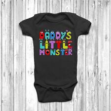 A Papino piccolo mostro BABY GROW Tuta Gilet 0-18 mesi neonato Carino