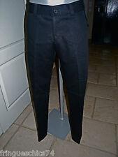 pantalon habillé noir homme HIGH USE taille 42 NEUF ÉTIQUETTE valeur 350€