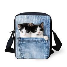 Men Small Shoulder Messenger Bag Women Handbag Purse Korean Animal Sling Satchel