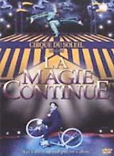 Cirque du Soliel: La Magie Continue (DVD, 2001) GREAT SHAPE
