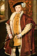 Poster, Many Sizes; King Edward Vi Of England Tudor Tudors