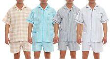 Corto Clásico Pijama manga corta Pijama Batiste Tira de botones 100 Algodón