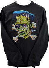 Unisex Sudadera Johnny as monstruo de Frankenstein Cruz Huesos horror Roth XS-7XL