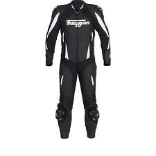 Furygan Apex Motorcycle Motorbike Leather Racing Suit Black/White |CLEARANCE