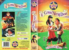 Le favole più belle. Il gobbo di notre dame (1995) VHS