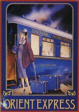 Orient Express | Saloon Car | Vintage Poster | A1, A2, A3