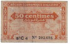 ALGERIA 50 CENTIMES 1944 PICK 97 A LOOK SCANS