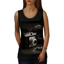 Old Photo Camera Women Tank Top NEW | Wellcoda