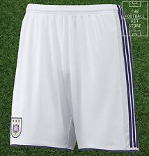 Anderlecht Shorts - adidas RSCA Football Shorts, Mens - All Sizes