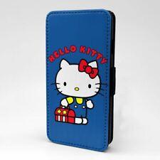 Funda Flip Hello Kitty protectora para teléfono móvil-T1452