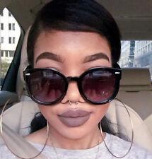 Big Round Glossy SUPER Duper BOHO Baddie Designer WaYfe Fashion Sunglasses L LUX