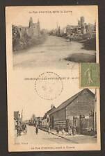 GRAINCOURT-lez-HAVRINCOURT (62) Rue d'HERMIES animée