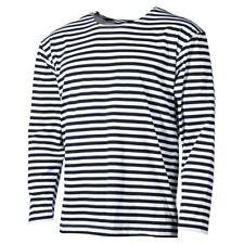 - Langarm Shirt - RUSSISCHE MARINE Style - Sommer - Pulli Matrosen Longsleeve