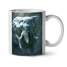 Enorme Elefante Caminar Nuevo Blanco Té Café Taza 11 OZ (approx. 311.84 g) | wellcoda