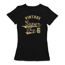 Vintage Super Dry 6 Design Women's T-shirt