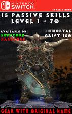 Diablo 3 - Nintendo Switch - Modded PRIMAL Set - Wrath of the Wastes - Barbarian