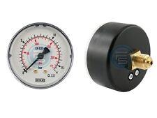 Waagerecht Manometer Ø 40, 50, 63 mm auch für Vakuum Druckluft Manometer